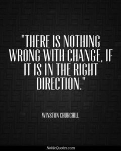 Right Change Quotes