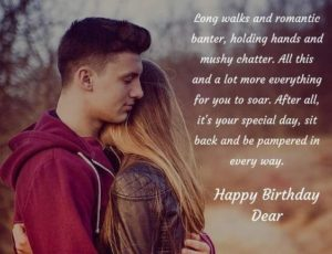 Romantic GF Birthday Quotes