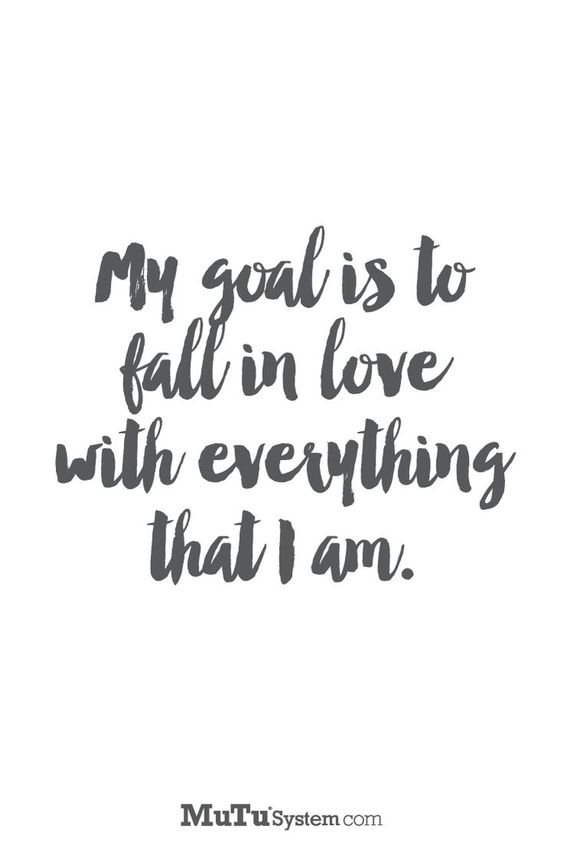 Self Love Goals Quotes