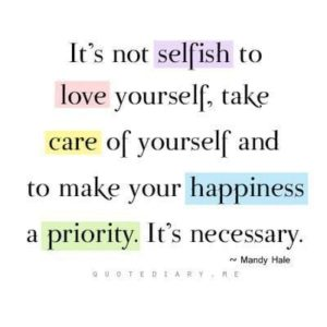 Selfish Love Yourself Quotes