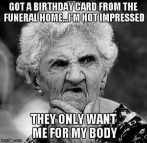 Silly Happy Birthday Quotes