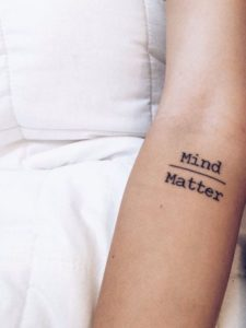 Simple Quote Tattoos