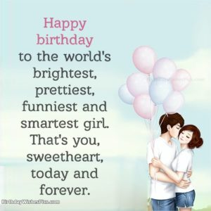 Smart Girlfriend Birthday Quotes