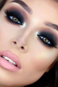 Charcoal Black Eye with Heavy Liner