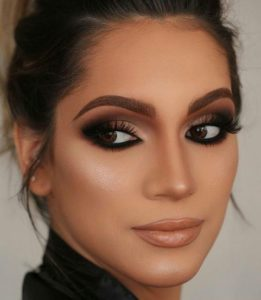Classic Natural Brown Smokey Eye