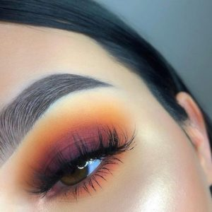 Sunset Smokey Eye