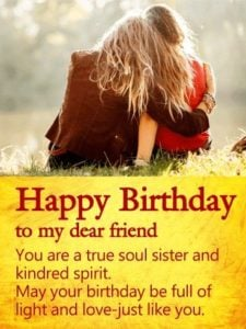 Soul Sister Birthday Quotes