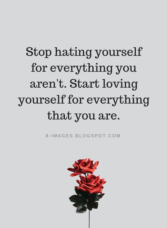 Start Self Love Quotes