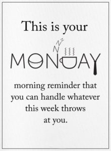 Strong Monday Quotes