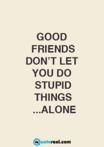 Stupid Funny Friendship Quotes