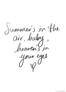 Summer Air Quotes