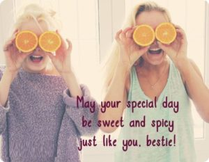 Sweet BFF Birthday Quotes