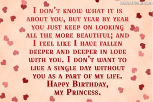 Timeless Love Birthday Quotes