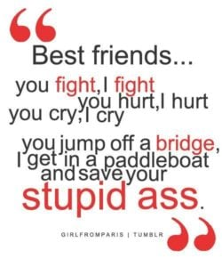 Together Funny Friendship Quotes