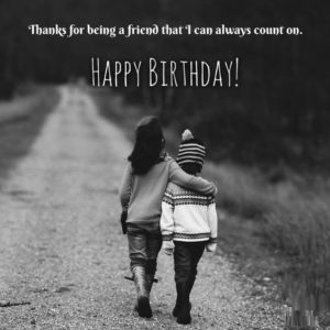 True Best Friend Birthday Quotes