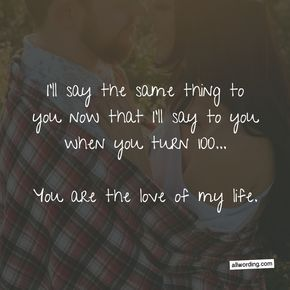 True Love Birthday Quotes