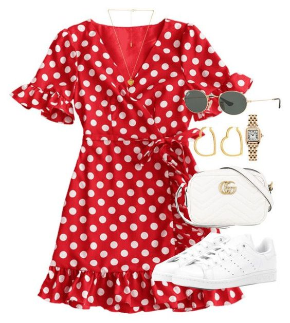 red dots sneakers
