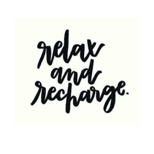 relax weekend quote