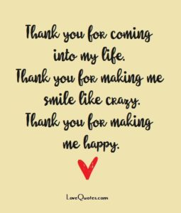thank you love quote