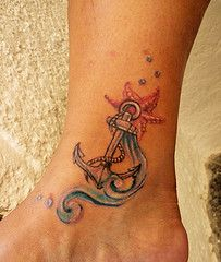 Anchor Beach Tattoos