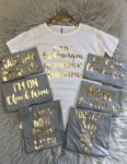 Bachelorette group shirts