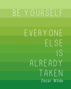 Be Yourself Teen Quotes