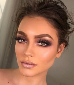 Sultry Eye and Strong Brows