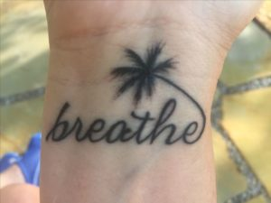 Calm Beach Tattoos