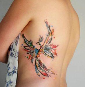Colorful-Rib-Tattoos