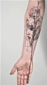 Complex-Sleeve-Tattoos-For-Women