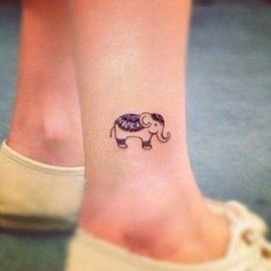 Elephant-Ankle-Tattoos