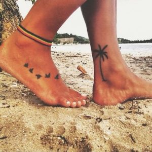 Feet Beach Tattoos