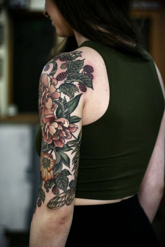 Paisley-Tattoos-Sleeves-For-Women