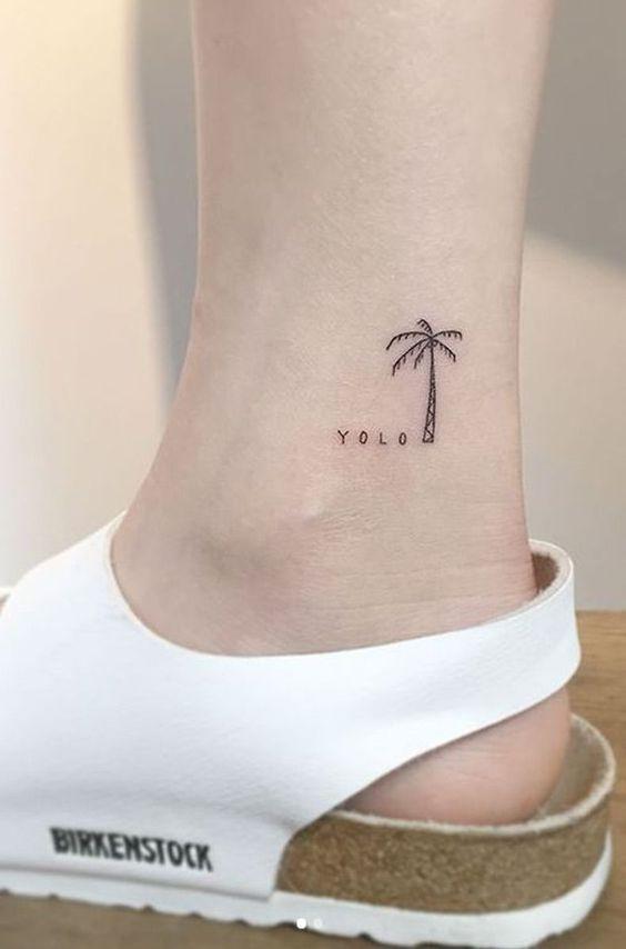 Beach Tattoos For Girls