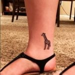 Giraffe-Ankle-Tattoos