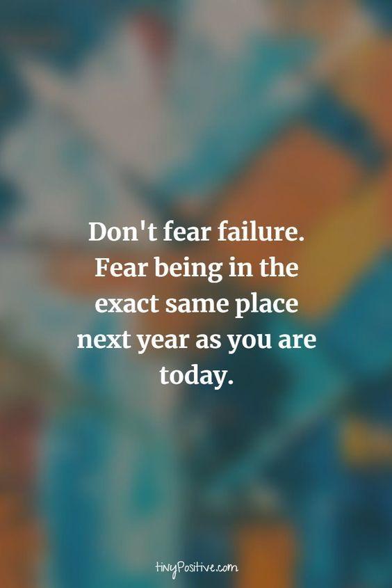 Afraid Short Cute Quotes