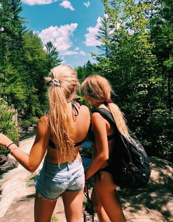Beach With Best Friends