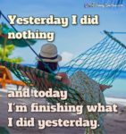 Lazy Vacation Quotes