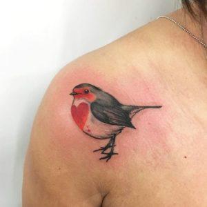 Lovely Bird Tattoos