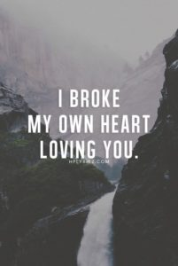 Loving You Sad Breakup Quotes