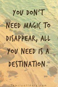 Magic Vacation Quotes