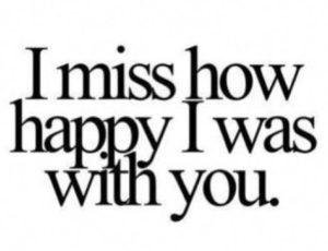 Miss You Sad Breakup Quotes