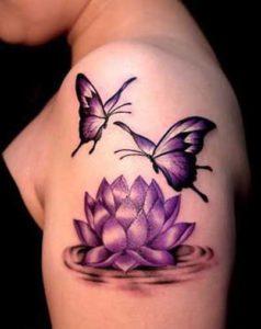 Nature-Lotus-Tattoos