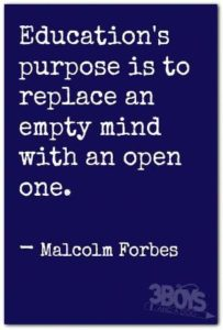 Open Mind College Quotes