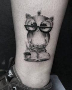 Owl Bird Tattoos