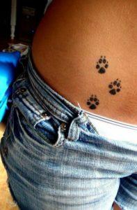 Paw-Print-Small-Hip-Tattoos