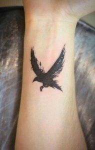 Raven Bird Tattoos