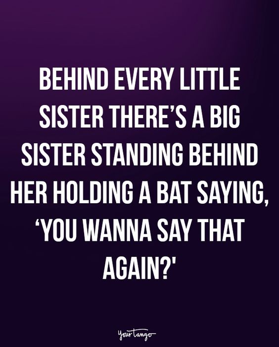 Funny Sister Quotes and Sayings