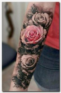 Rose-Sleeve-tattoos