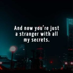 Secret Sad Breakup Quotes